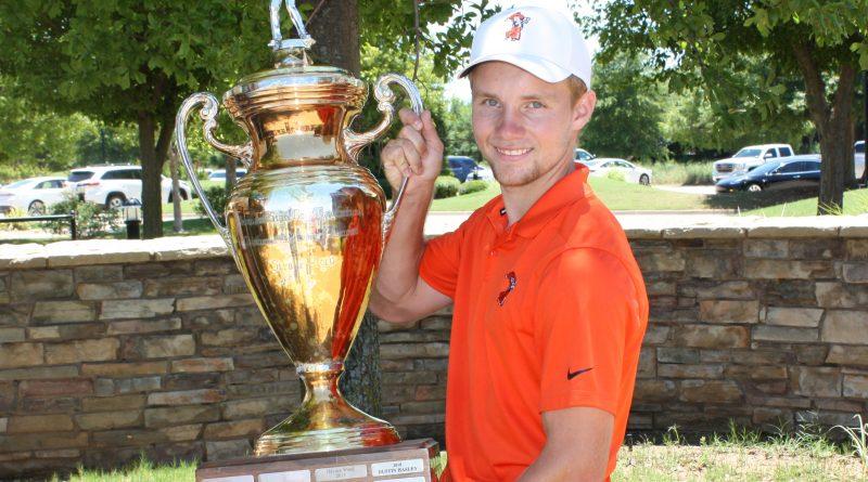 Rasmus Neergaard-Petersen is the Stroke Play Champion